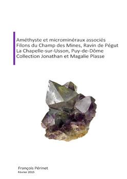Amethyste et micromineraux associes champ des mines pegut a couv 350