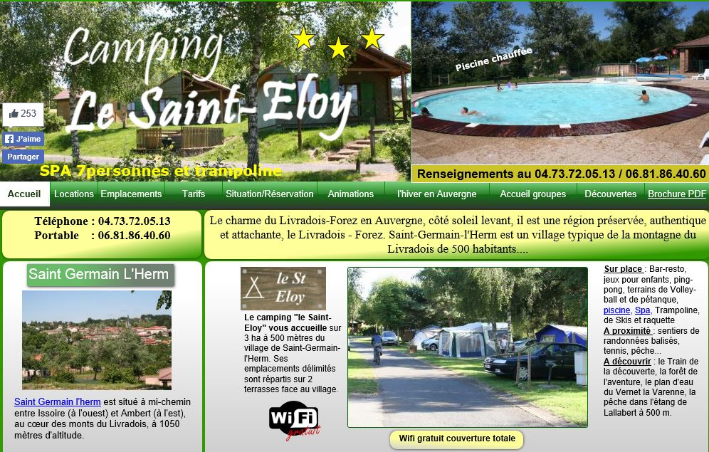 Image camping le st eloy