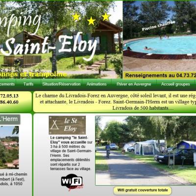 Camping le St Eloy - 63630 St Germain l'Herm à 20 min de la mine